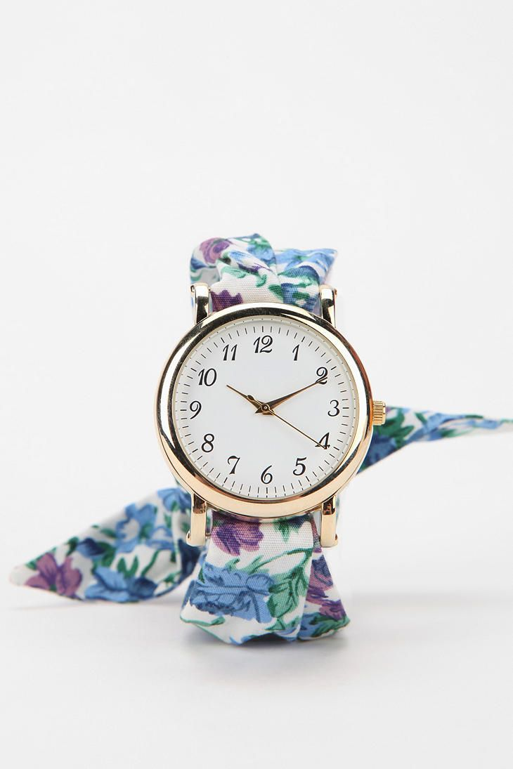 Floral Wrap Watch #urbanoutfitters