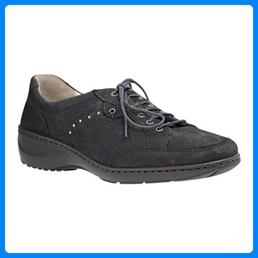 WALDLÄUFER - Kya - Damen Halbschuhe - Blau Schuhe in