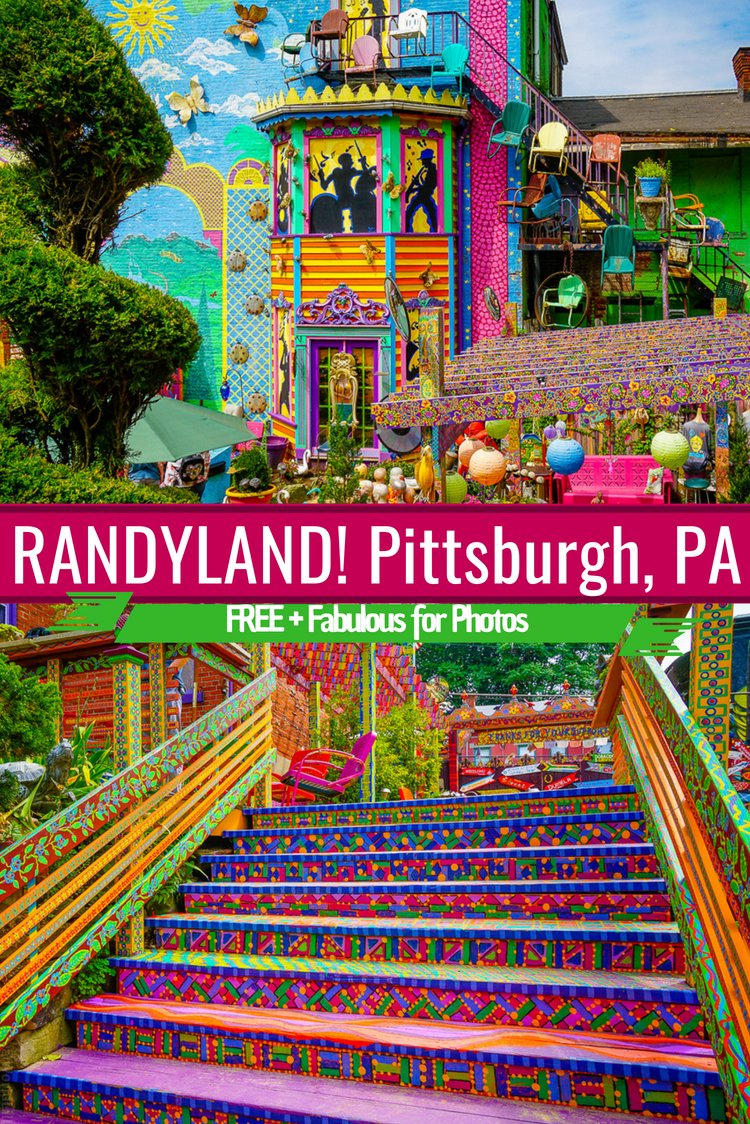 You Must See Randyland In Pittsburgh Free Color Around The World L Pennsylvania Travel Us Travel Destinations Usa Travel Destinations