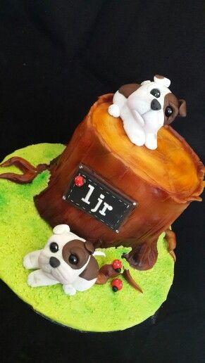Bulldogs  cake topper