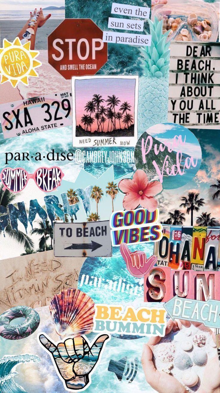 #vsco #summer #background #phonewallpaper #collage #summer aesthetic wallpaper collage ☆ P I N T E R E S T - @gillianbrubakerrr ☆