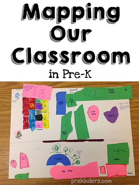 Map Making in PreK  Social studies Kindergarten and Geography