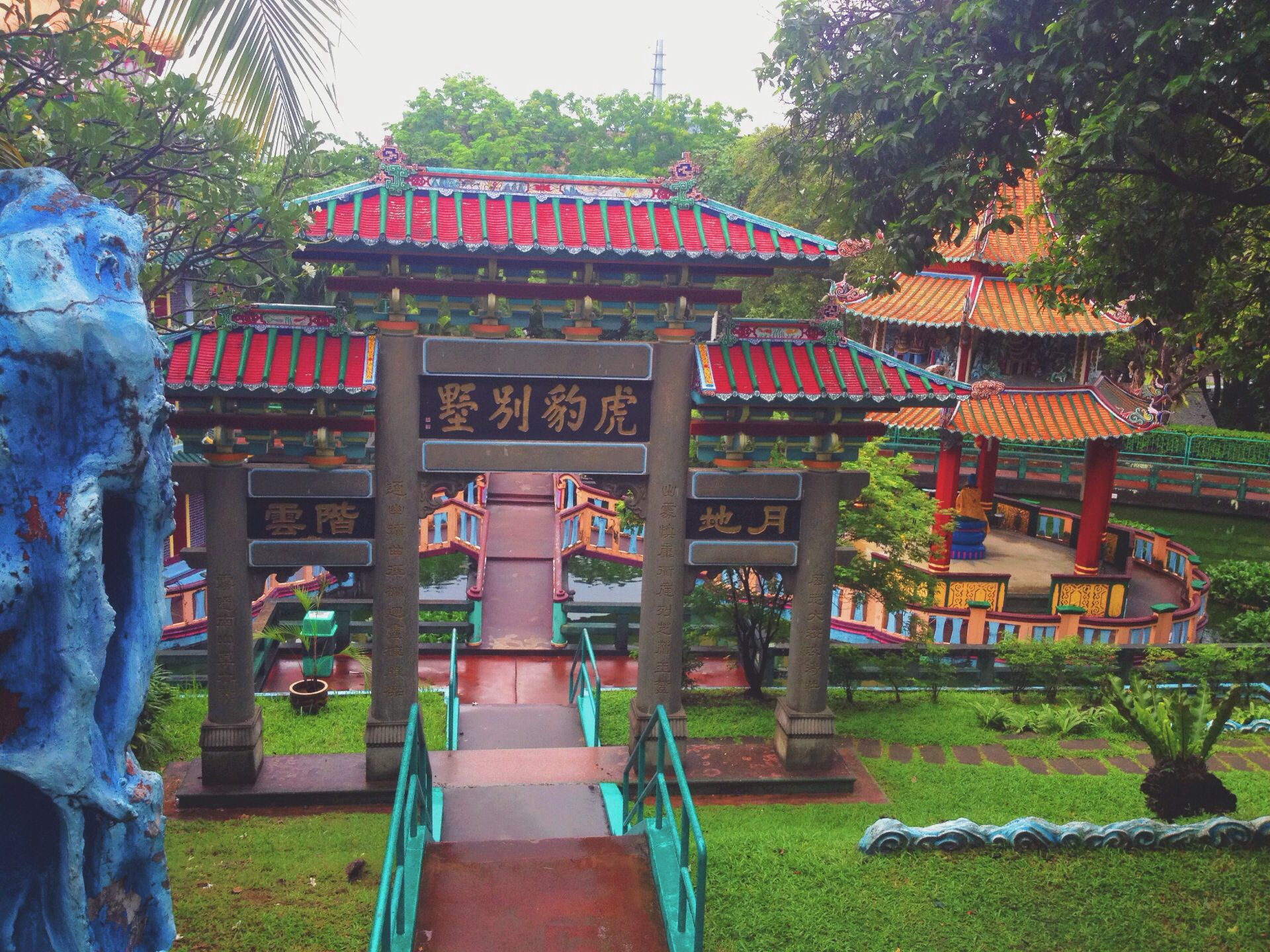 Haw par villa-singapore So vibrant with colors and chinese culture
