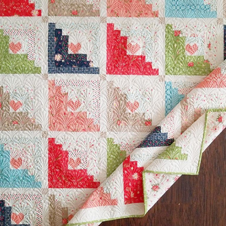 More Harper's Garden Quilts is part of Quilts, Quilt patterns, Square quilt, Quilting designs, Jellyroll quilts, Garden quilt - Today I'm sharing more Harper's Garden quilts  Introducing Monarch, Community, and Hearts at Home 2 which are designs by my daughter Chelsi  Enjoy!