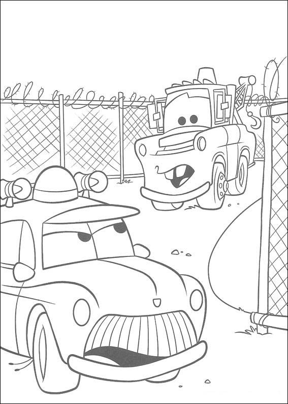 Dibujos Para Colorear Cars 20 Coloring Pages Cars Coloring Pages