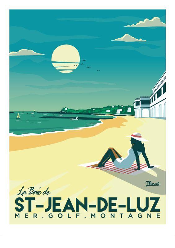Le Baie de Saint Jean de Luz ~ Marcel