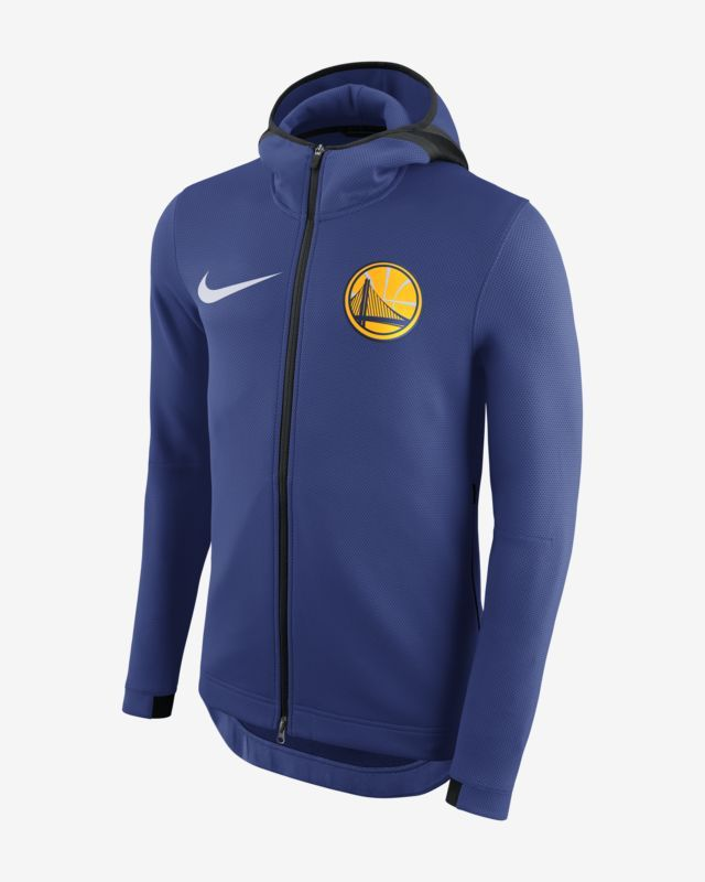 def3d8746 Nike Men's NBA Hoodie Golden State Warriors Therma Flex Showtime ...