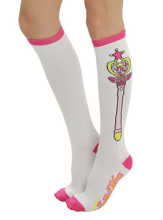 Sailor Moon Wand Knee-High Socks,
