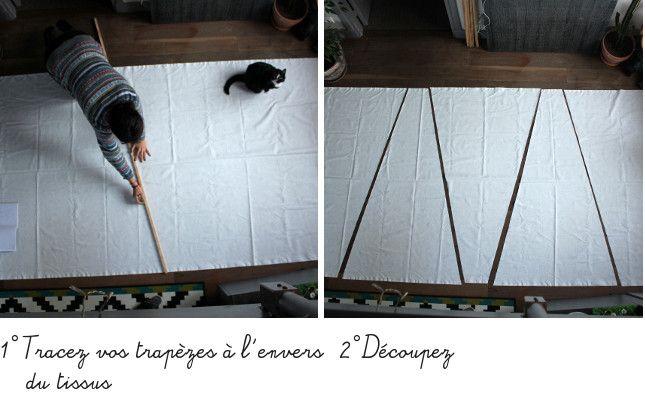 d i y le tipi pour enfant pour mes puces et petits loups pinterest tipi pour enfant. Black Bedroom Furniture Sets. Home Design Ideas