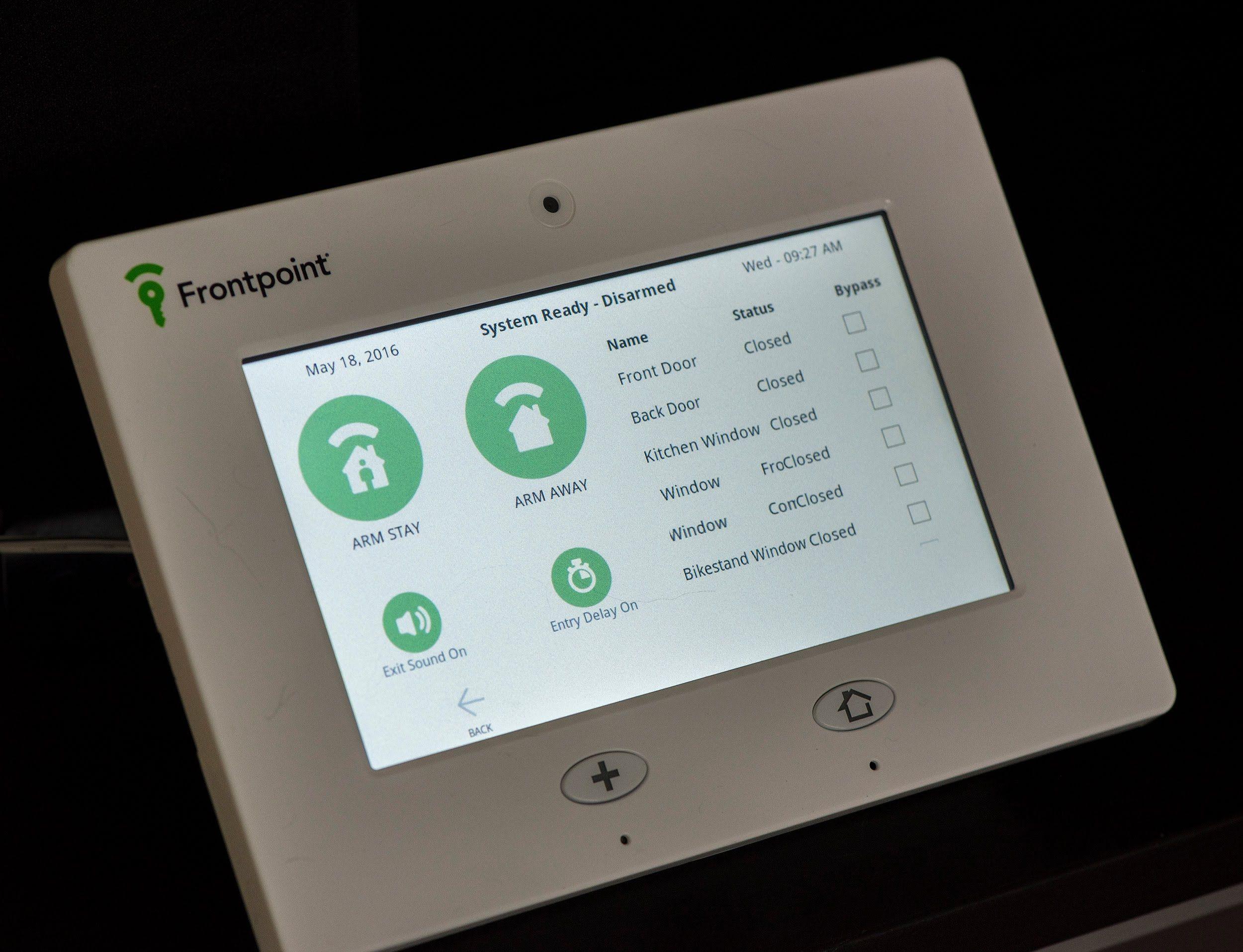 Frontpoint Security Garage Door Sensor Dandk Organizer