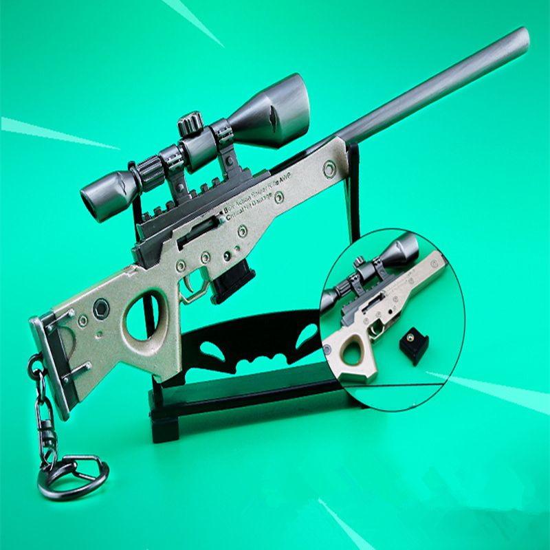 Pin On Fortnite Battle Royale Theme Bolt Action Sniper Rifle Key Chain Accessory
