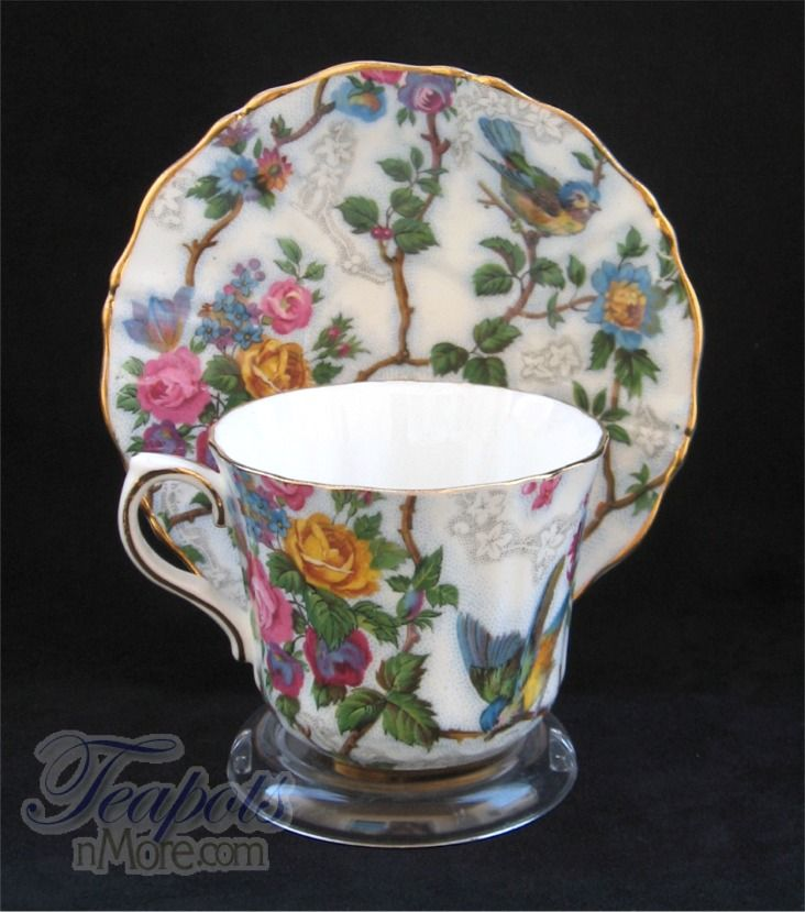 Old Royal Lorna Doone Chintz Vintage Tea Cup
