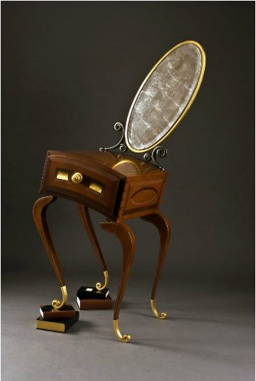 Alice In Wonderland Furniture By John Suttman.matches The Grandfather  Clock! It Would Be A Magical Place!