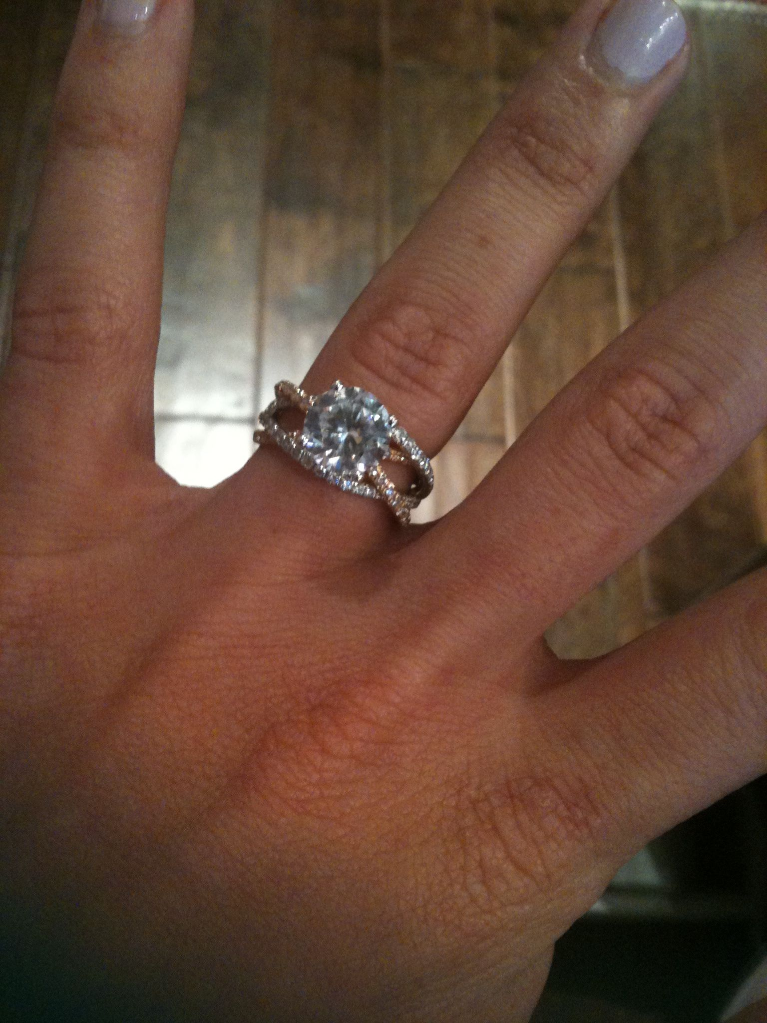 3 band wedding ring msimagines My Engagement Ring by MARK SILVERSTEIN IMAGINES