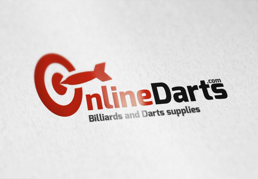 This is entry #51 by Naumovski  in a crowdsourcing contest Design a Logo for Online Darts - line of dart products for $75.00 posted on Freelancer.com!
