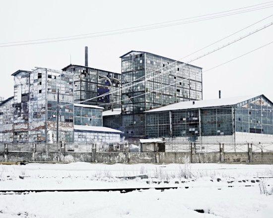 Ocna-Mures, old factory