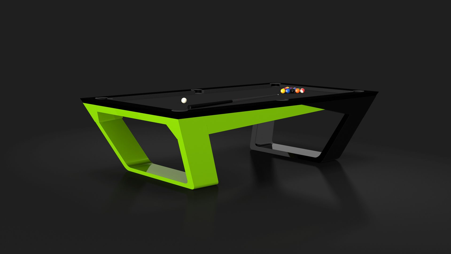 Eleven Ravens Modern Pool Table Billiards Billiard Table