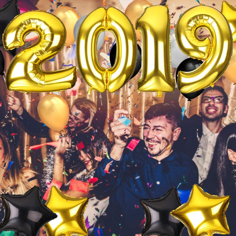 046dc9533103e Nochevieja 2019 decoración de año Fiestas