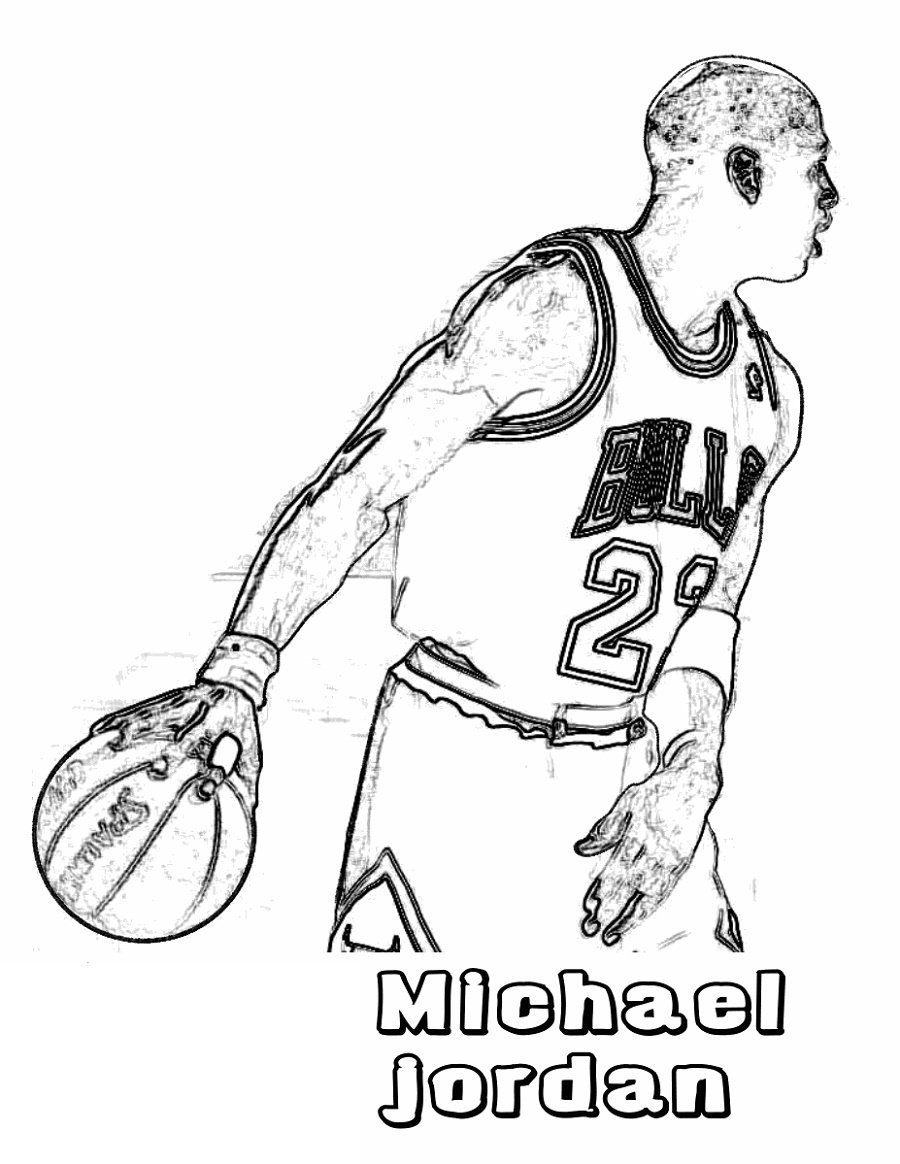 Michael Jordan Coloring Pages To Print Educative Printable In 2020 Coloring Pages To Print Sports Coloring Pages Coloring Pages