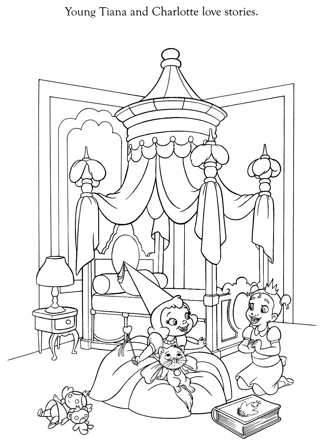 Disney Coloring Pages Frog Coloring Pages Disney Coloring Pages Princess Coloring Pages