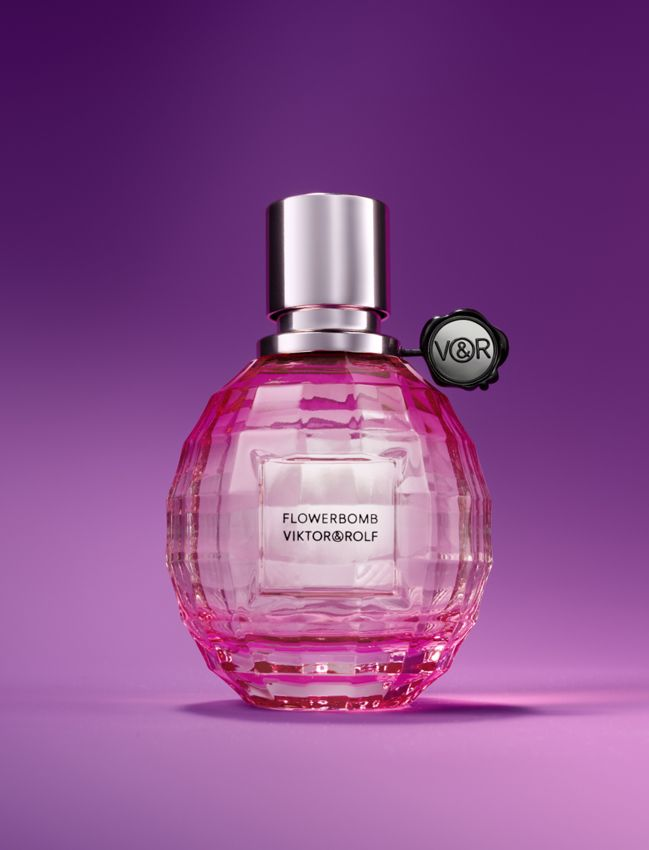 new at bloomingdale's! viktor & rolf flowerbomb limited edition la vie en rose
