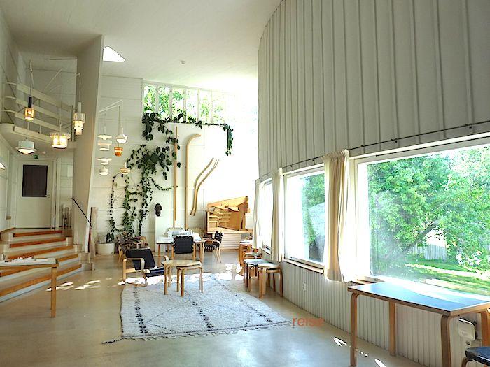 学生時代から憧れていた建築家、アルヴァ・アアルト。 ようやく彼の ...