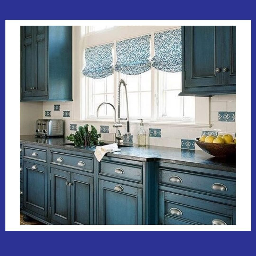 everyone saves the pop of color for the walls go against the grain and let yo beautif in on farmhouse kitchen wall colors id=17622