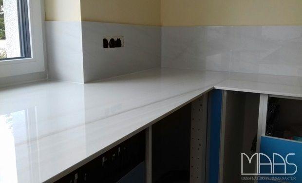 Nein, das ist keine Marmor Arbeitsplatte Hier erfahren Sie mehr - keramik arbeitsplatte küche