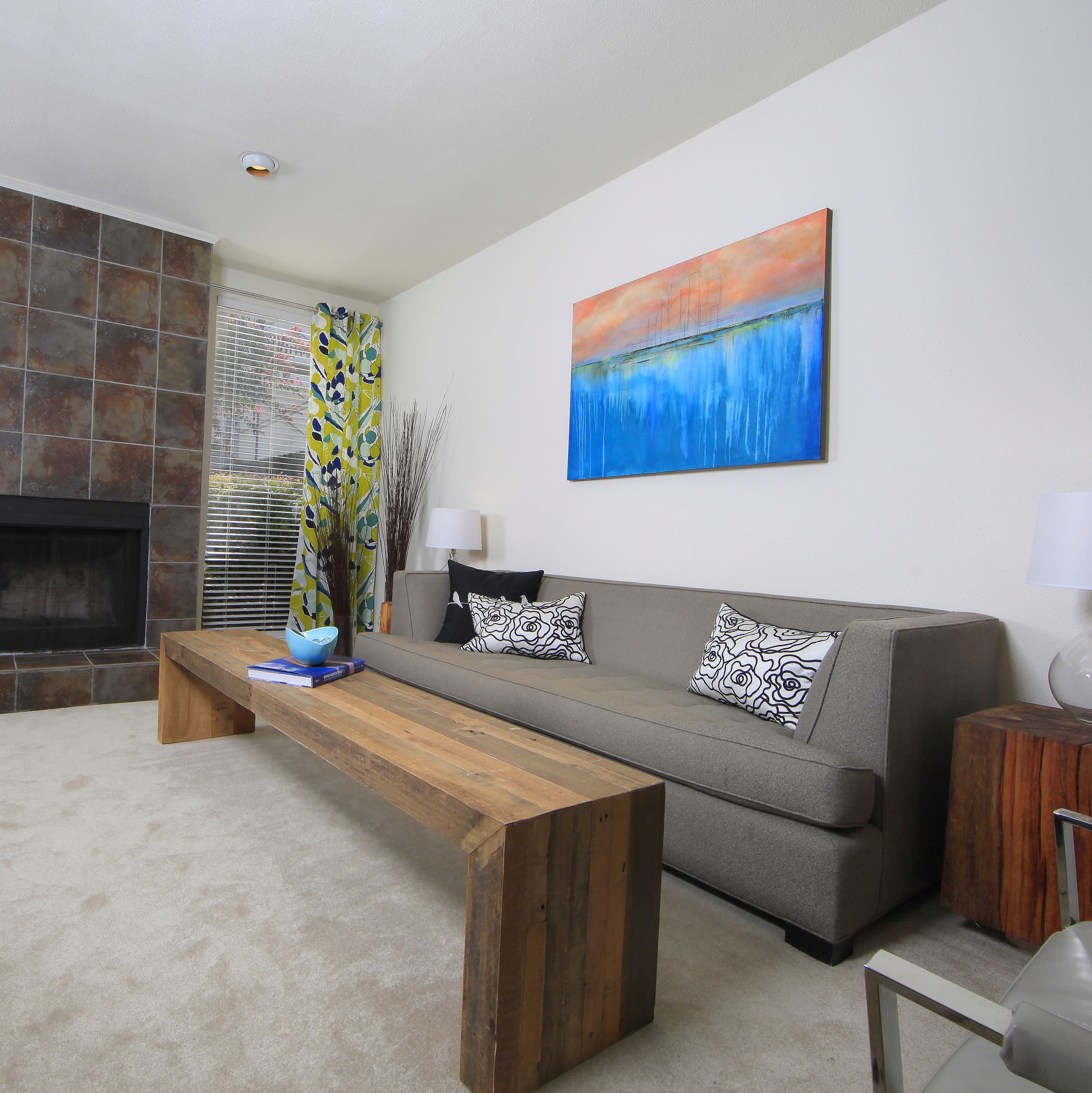 Modern Condo Living Room - Houston Texas #s2d   Modern ...