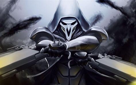 Reaper, 4k, characters, Overwatch Overwatch wallpapers
