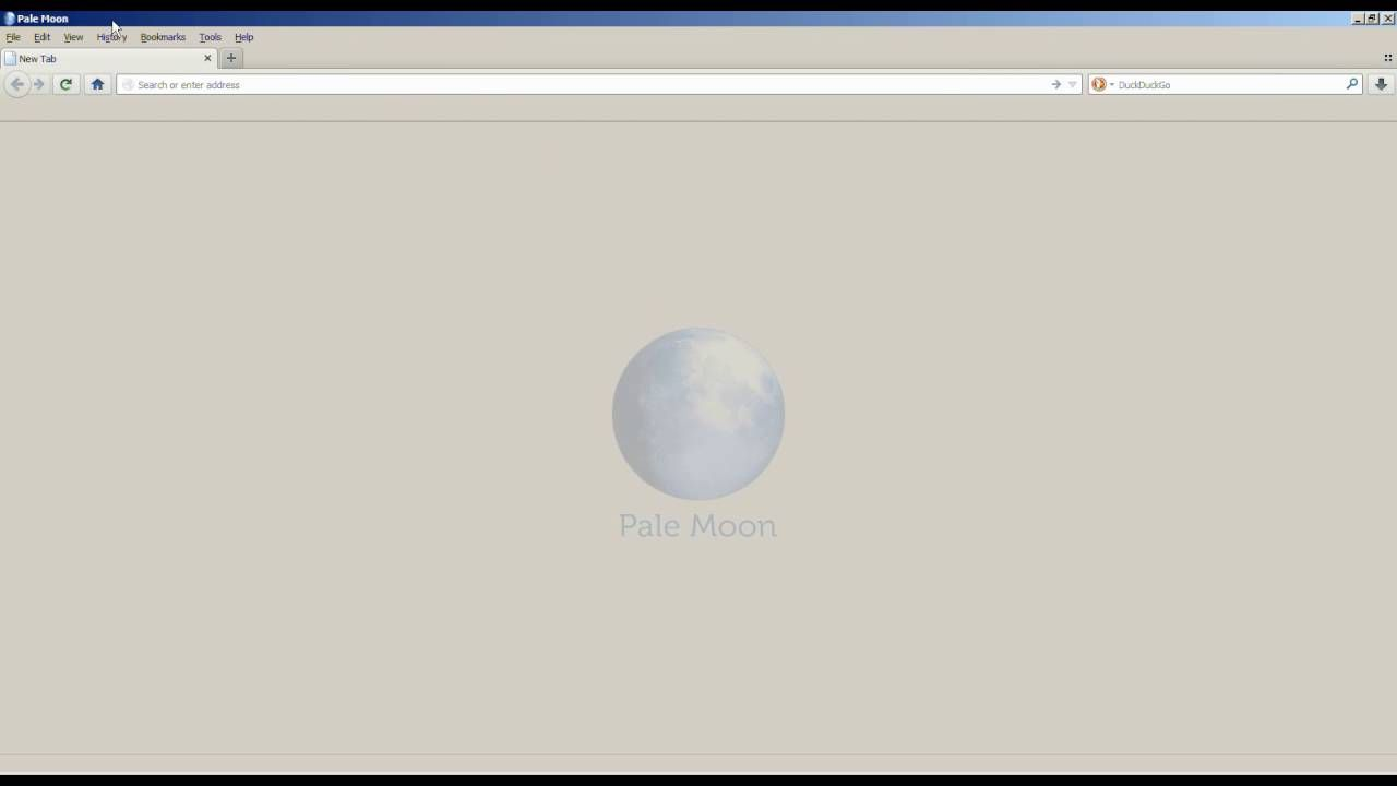How To Clear Cache In Pale Moon Browser