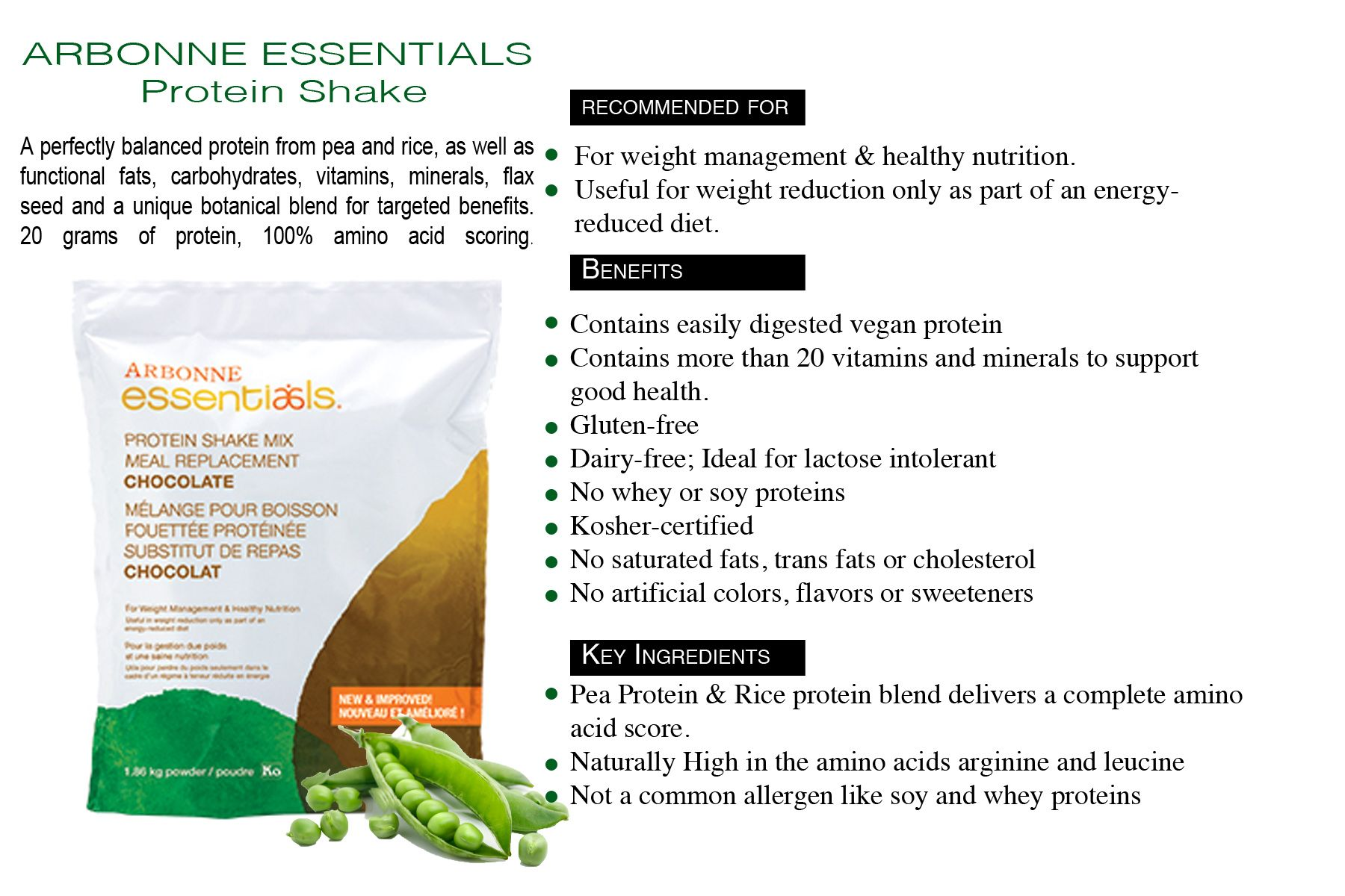 The Benefits of Arbonne's Pea & Rice Protein Powder ...