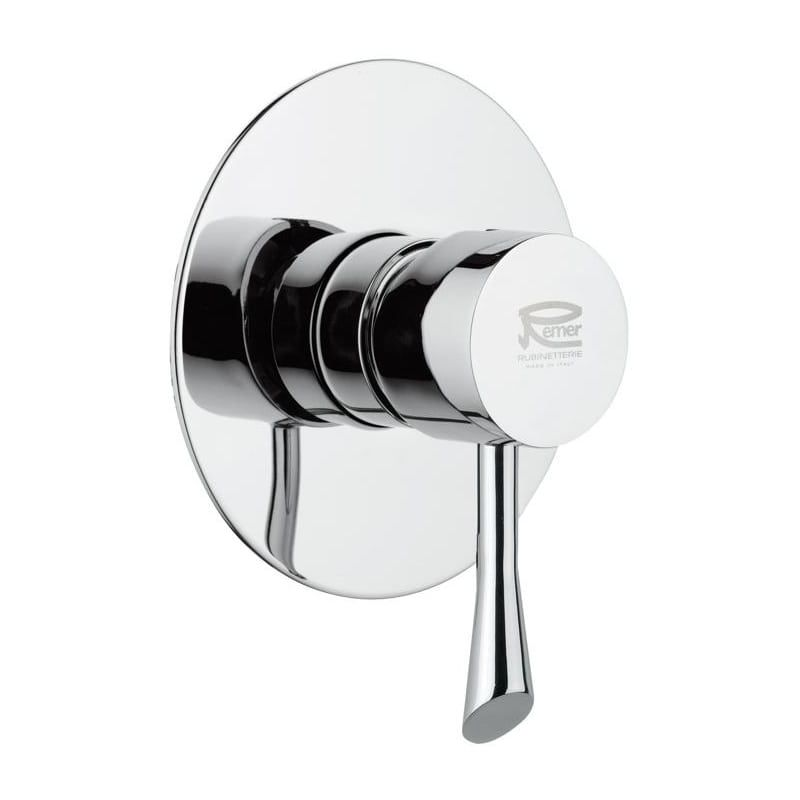 Photo of Nameeks J30L Remer Collection Valve Trim Only Includes Rough In Chrome Faucet Valve Trim Only Single Handle