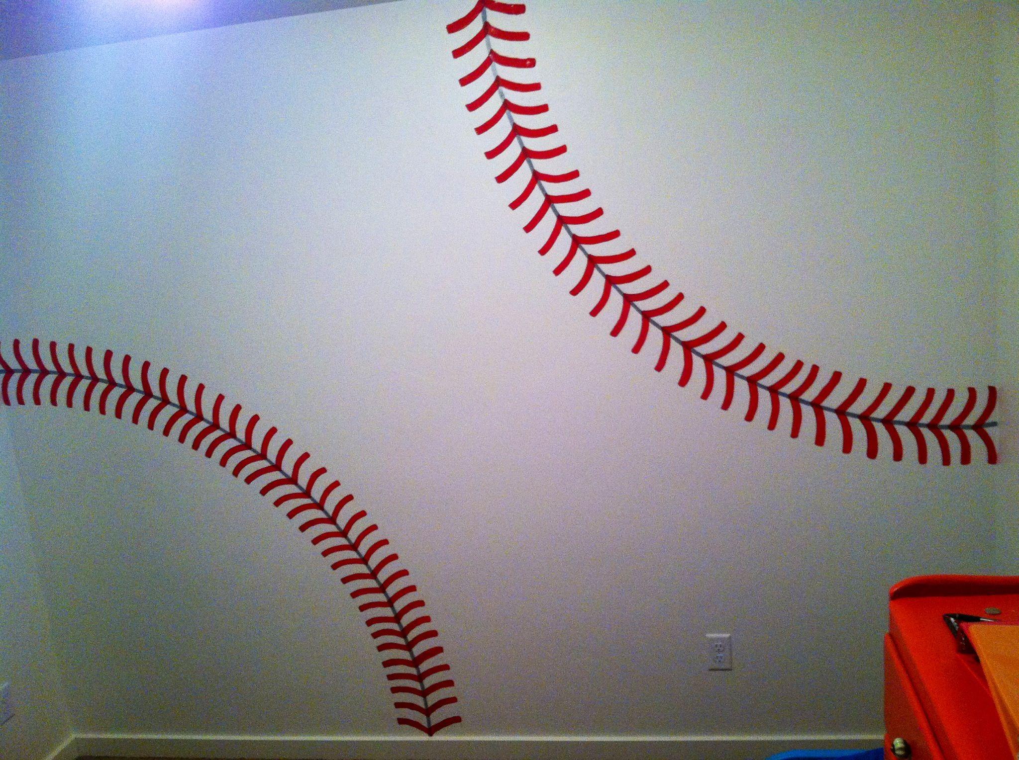 baseball wall for kids room kid s room pinterest baseball baseball wall for kids room