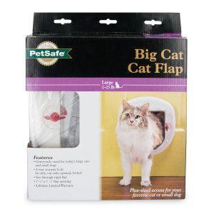 Petsafe Big Cat Large 4 Way Cat Flap Doors Petsmart Cat Door Cat Flap Big Cats