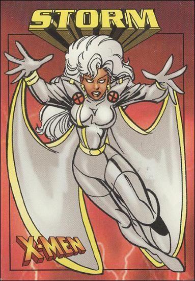 X Men 0 99 22 A Jan 1997 Trading Card By Fleer Skybox Storm Xmen Storm X Men