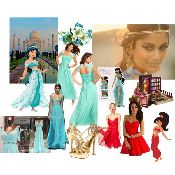 Princess Jasmine; Prom by colleenalexa on Polyvore featuring ...