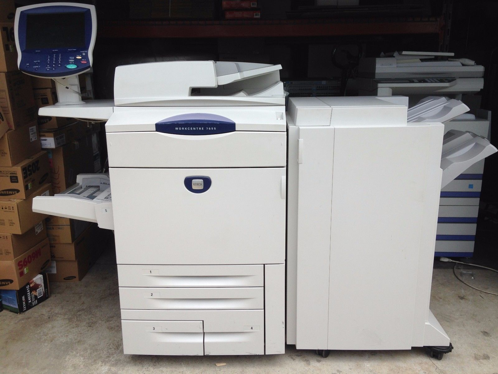 XEROX 7655 PRINTER DOWNLOAD DRIVER