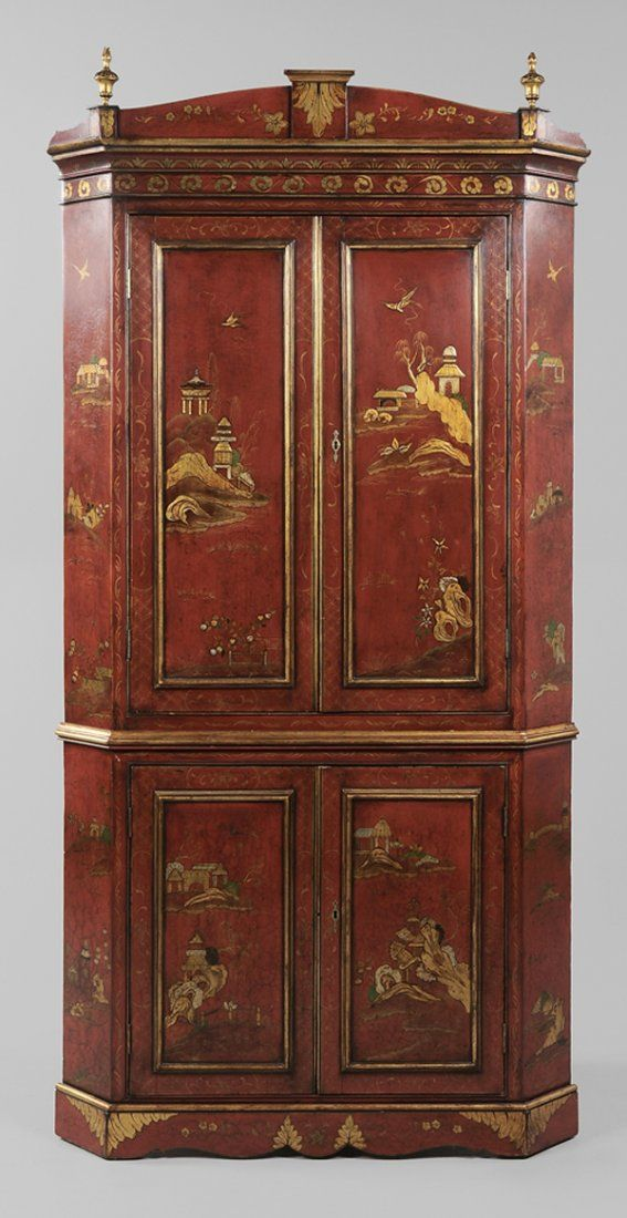 Nice English Chinoiserie Chest Influenced By The Chinese And Featured Fantastic  Landscapes As Seen In This. Furniture StylesAsian FurnitureAntique ...
