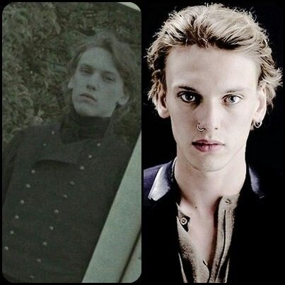 Jamie Campbell Bower In Harry Potter Scene