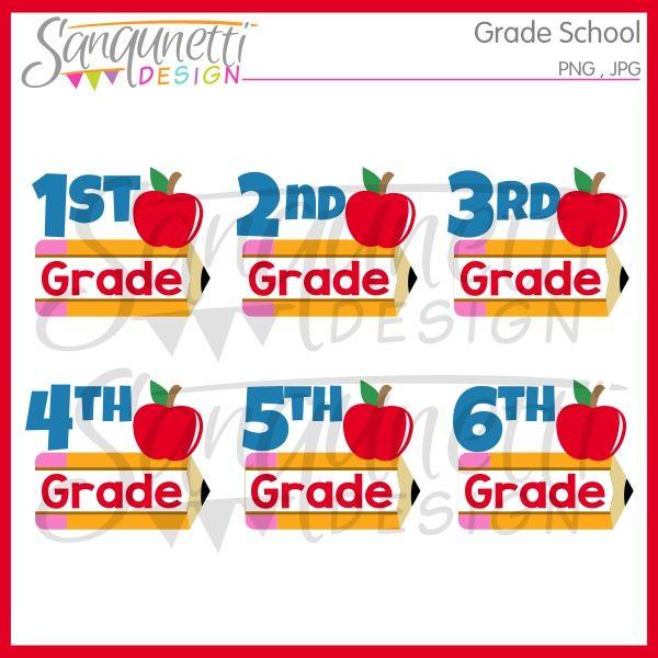 Grade School Clipart Elementary Schools School Clipart School Grades