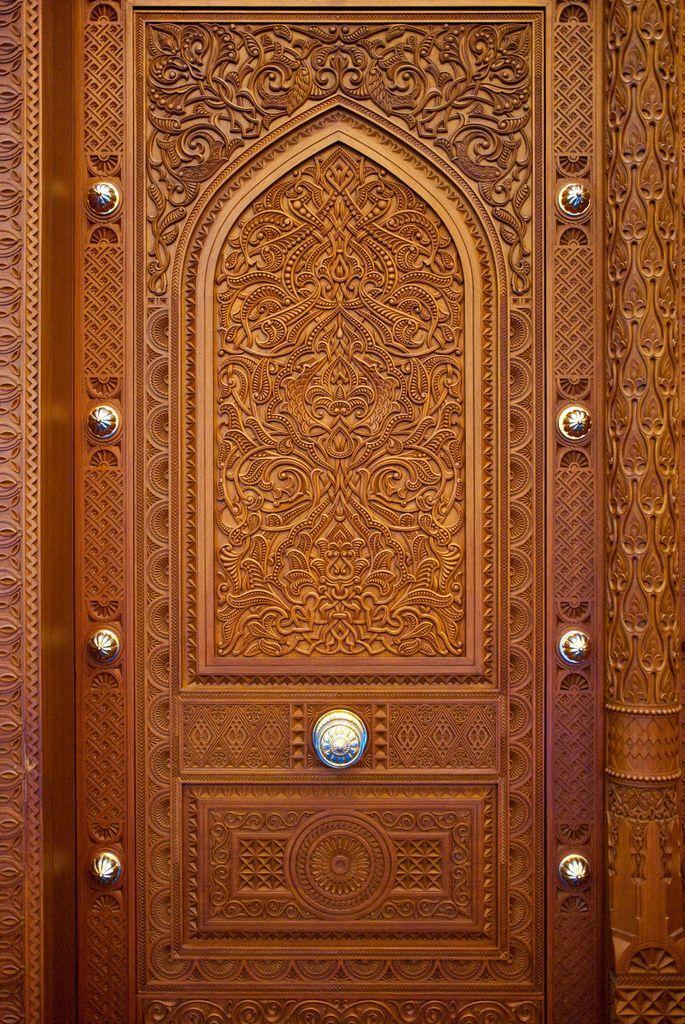 باب المسجد الكبير السلطان قابوس Art Of Egypt Arabic