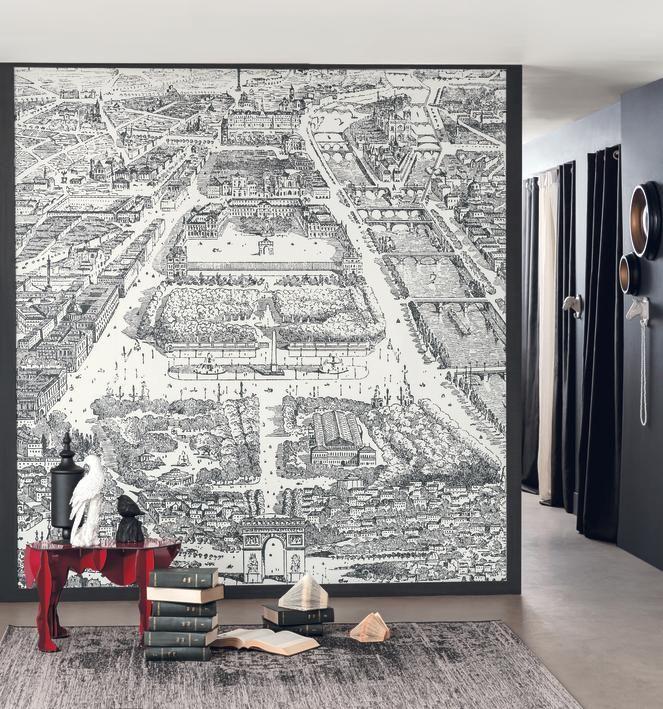 Collection Noir Blanc Shades Papiers Peints Panoramiques