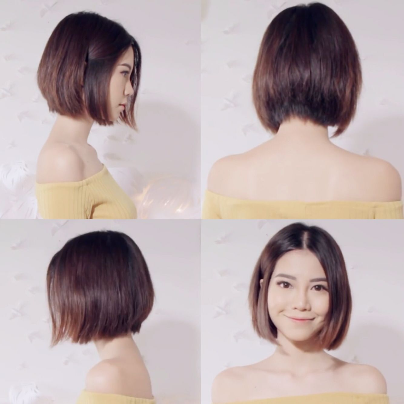 Sichenmakeupholic on YouTube is short hair goals #asian #bob #shorthair # haircut #beauty #ombre #hairstyle #cute … | Asian short hair, Korean short  hair, Asian hair