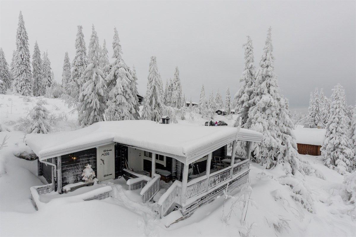 FINN – TRYSIL/FAGERÅSEN - Koselig hytte med solrik terrasse og flott utsikt - 3 soverom - Ski-inn/ut - Peis - Populært område!