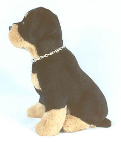 Rottweiler SEWING PATTERN 12 inch Sitting Puppy Dog Stuffed Animal ...