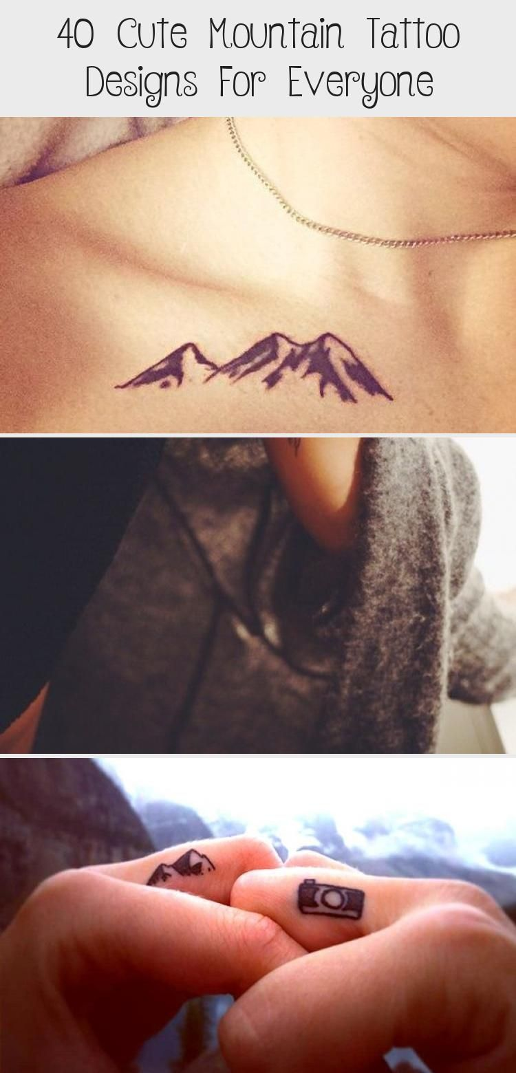 Photo of 40 Cute Mountain Tattoo Designs for Everyone – Hobby Lesson #travelingtattosArro…