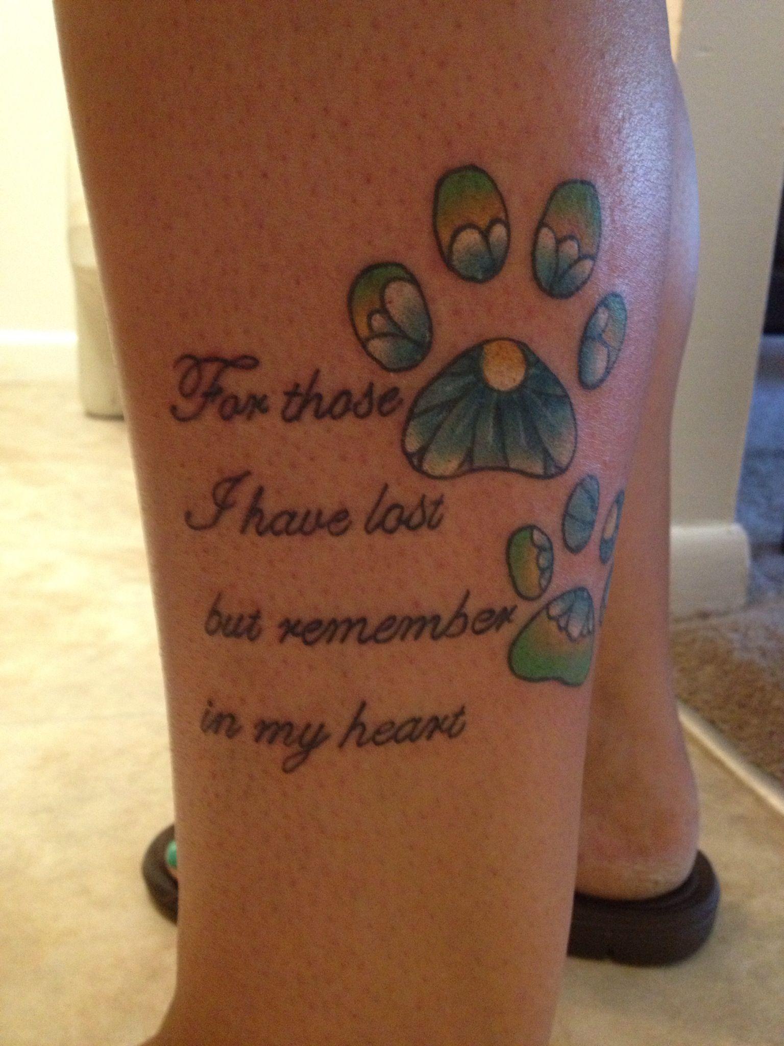 I M Memory Of My Babies That Have Crossed The Rainbow Bridge Memorial Tattoos Dog Memorial Tattoos Heart Temporary Tattoos