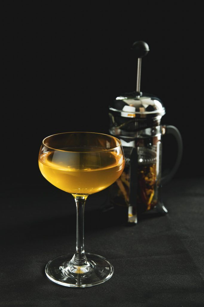 Rice and Saffron - French Press Cocktail | Liquid Culture