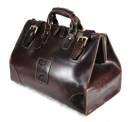 Mens Vintage Leather Travel Luggage Bag 7df005a0e1949